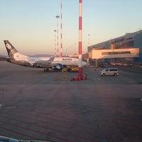 Photo taken at Aurora flight 5662 Vladivostok - Busan by Alexander M. on 10/26/2014