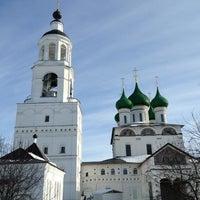 Photo taken at Свято-Введенский Толгский женский монастырь by Glenn on 3/8/2013