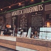 Photo taken at Vortex Doughnuts by Brenton V. on 2/3/2015
