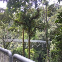 Photo taken at The Tree Top Walk Sg Sedim by Kykaren M. on 4/23/2017