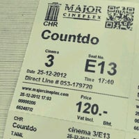 Photo taken at Major Cineplex Chiang Rai by Kungking T. on 12/25/2012