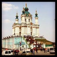 Снимок сделан в Андреевская церковь пользователем Marina L. 4/20/2013