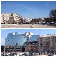 Снимок сделан в Hyatt Regency Kiev пользователем Marina L. 4/2/2013