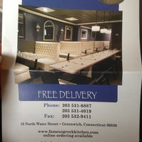 Photo taken at Famous Greek Kitchen by Nicolle F. on 3/15/2013