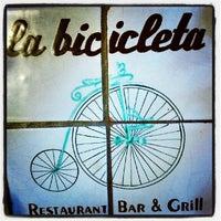 Photo taken at La Bicicleta by Vic A. on 5/12/2013