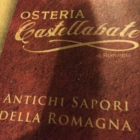 Photo taken at Osteria Castellabate di Romagna by Alessandro P. on 6/21/2014