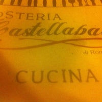 Photo taken at Osteria Castellabate di Romagna by Alessandro P. on 9/14/2012
