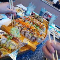 Photo taken at Samurai Sushi by Dennis W. on 11/13/2012