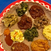 Photo taken at Awash Ethiopian Restaurant by Allison L. on 2/11/2017