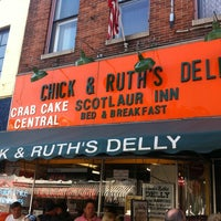 Photo taken at Chick & Ruth's Delly by Edwin K. on 9/30/2012