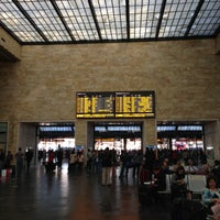 Photo taken at Firenze Santa Maria Novella Railway Station (ZMS) by Edwin K. on 4/18/2013
