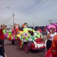 Photo taken at Bajada Bertolotto by Lou F. on 4/7/2014