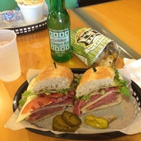 Photo taken at Pickles Deli by Christopher on 3/1/2014
