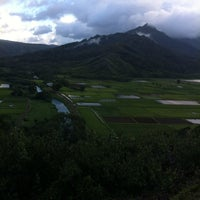 Photo taken at Hanalei Valley Lookout by Greg M. on 11/15/2012