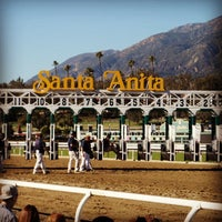 Photo taken at Santa Anita Park by Greg M. on 1/21/2013