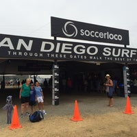 Photo taken at San Diego Surf Cup by Dominick P. on 8/2/2014