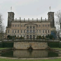 Photo taken at Schloss Albrechtsberg by Andreas G. on 4/2/2017