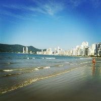 Photo taken at Praia Central de Balneário Camboriú by Luan H. on 4/28/2013
