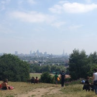 Photo taken at Hampstead Heath by Steve B. on 7/21/2013