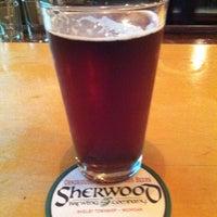 Photo taken at Sherwood Brewing Company by J_Stoz on 9/21/2013
