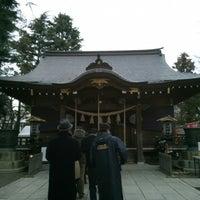 Photo taken at 草加神社 by Chikako H. on 1/2/2015