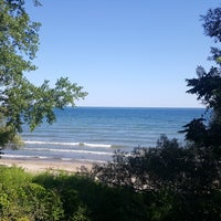 Photo taken at Durand Eastman Beach by GraciePgh on 8/13/2017