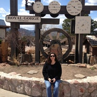 Photo taken at Royal Gorge Bridge & Park by Derek S. on 4/7/2013