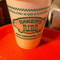 Photo taken at Baker's Ribs by Ashton P. on 1/11/2013