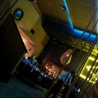 Photo taken at Cafe de La Musique by Lincoln S. on 9/22/2012