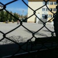 Photo taken at Şehit Ali Er Anadolu Lisesi by Oguz Batu D. on 3/13/2016