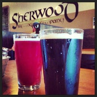 Photo taken at Sherwood Brewing Company by Rudi S. on 6/17/2013