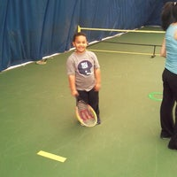 Photo taken at Tennis Courts by Kwame A. on 4/25/2013