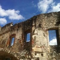 Photo taken at Castel Beseno by Davide R. on 8/15/2013