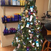 Photo taken at Reflections Hair Design by Denise F. on 12/19/2014