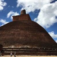 Photo taken at Jetavana Stupa by Lina N. on 1/21/2017
