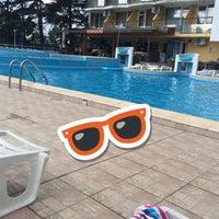 Photo taken at Pool @ Hotel Yantra by Birnur G. on 8/29/2016