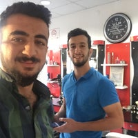 Photo taken at Diclekent Erkek Kuaförü by Ferhat K. on 10/21/2016