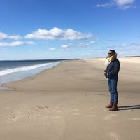 Photo taken at Breezy Point Beach by Robert G. on 3/12/2017