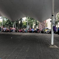 Photo taken at Plaza del danzon by Diana A. on 6/9/2018