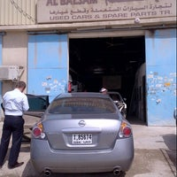 Photo taken at Al Balsam spare parts - Nissan by Uluc A. on 2/24/2013