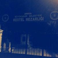 Photo taken at Kestel Mezarlığı by Ismail Y. on 8/9/2015