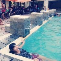 Photo taken at Nirmala Swimming Pool by Yantimariast 얀. on 10/12/2013