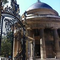 Photo taken at Parc Monceau by Lily on 9/30/2012