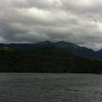 Photo taken at Real Journeys Lake Te Anau by Tina C. on 3/29/2013