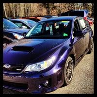 Photo taken at Patriot Subaru by Jay M. on 4/25/2013