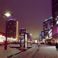 Photo taken at New Arbat Street by Варвара А. on 3/15/2013