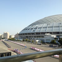 Photo taken at Nagoya Dome by yuka m. on 3/9/2013