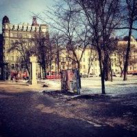Снимок сделан в Площадь Тургенева пользователем Valentine D. 3/19/2013