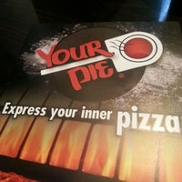 Photo taken at Your Pie by Shawna W. on 8/26/2013