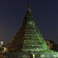 Photo taken at That Dam Stupa by MD L. on 9/18/2016